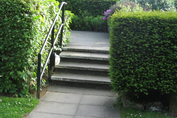 No access ramp